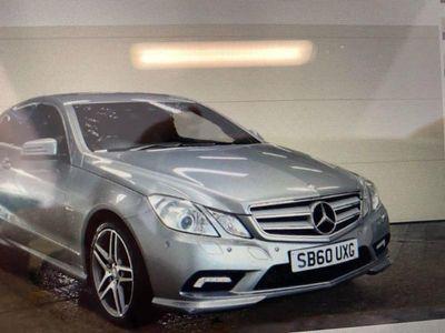 used Mercedes E200 E CLASS 1.8CGI BLUEEFFICIENCY SPORT 2d 184 BHP