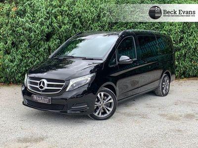 used Mercedes V220 V CLASS 2.1D SPORT L 5d 161 BHP LWB 8 SEATER