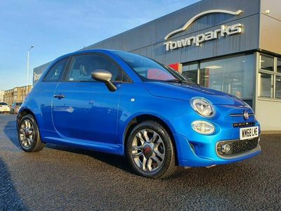 used Fiat 500S PARKING SENSORS PRIVACY GLASS U CONNECT CRUISE C 1.3 3dr