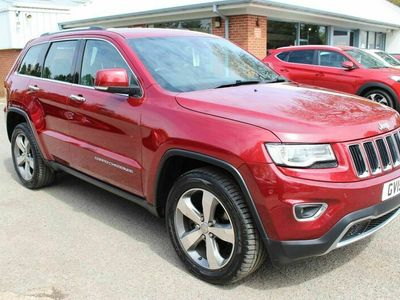 used Jeep Grand Cherokee 3.0 CRD Limited Plus Auto 4WD 5dr