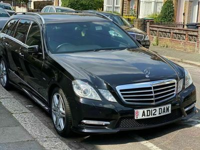used Mercedes E350 E Class 3.0CDI BlueEFFICIENCY Sport Edition 125 G-Tronic 5dr