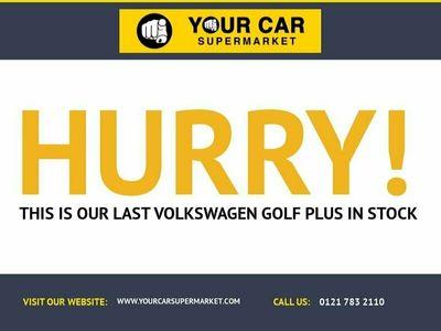 used VW Golf Plus 2.0 SE TDI 5d 140 BHP