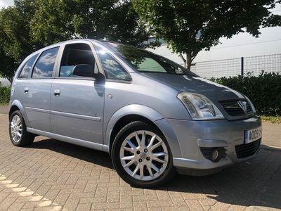 used Vauxhall Meriva 1.6 i 16v Active Plus 5dr