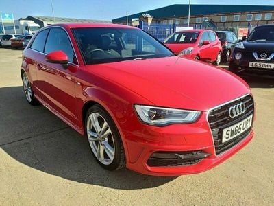 used Audi A3 1.4 TFSI S LINE NAV 3d 124 BHP 4 RECORDS OF SERVICE HISTORY Satellite Navig