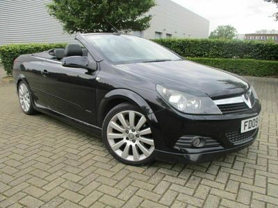 used Vauxhall Astra Cabriolet TWIN TOP EXCLUSIV BLACK 2-Door