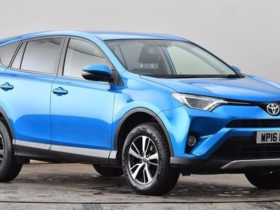 used Toyota RAV4 2.0 D-4D Business Edition 5dr 2WD Blue Manual Diesel