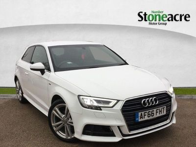 used Audi A3 1.4 Tfsi S Line 3Dr