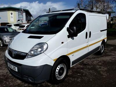 used Vauxhall Vivaro 2.0 2900 CDTI SWB ECOFLEX 113 BHP
