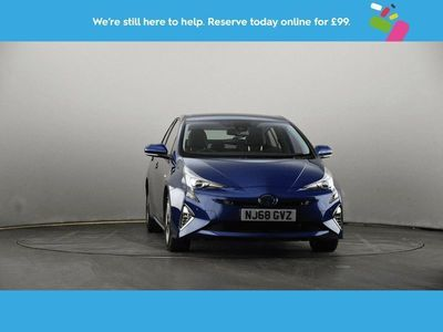 used Toyota Prius 1.8 VVTi Excel 5dr CVT Leather Seats