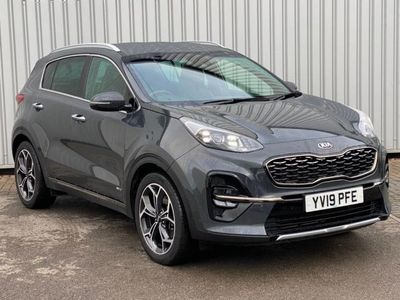 used Kia Sportage 1.6 T-GDi GT-Line DCT AWD (s/s) 5dr estate