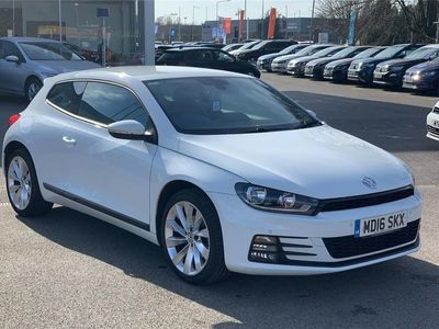 used VW Scirocco 2016 Lyme Green Business Park 1.4 TSI BlueMotion Tech GT 3dr