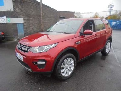 used Land Rover Discovery Sport 2.0 TD4 SE Tech 4WD (s/s) 5dr