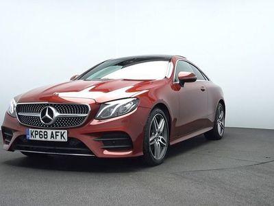 used Mercedes E220 E CLASS 2018 LondonCoupé