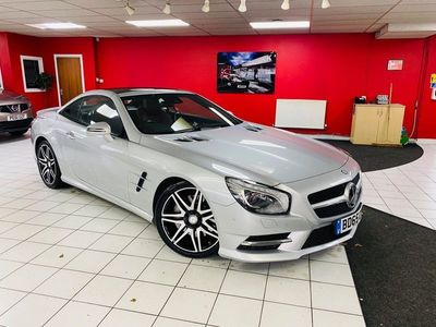 used Mercedes SL400 SL Class 3.0AMG Sport Roadster (s/s) 2dr