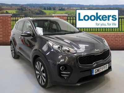 used Kia Sportage 2017 Stockport 1.7 Crdi Isg 3 5Dr Dct Auto [Panoramic Roof]