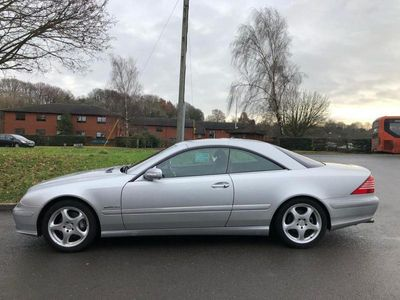 used Mercedes CL500 CL 5.02d 302 BHP Auto, 2004 (04)