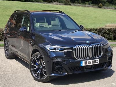 used BMW X7 DIESEL ESTATE xDrive30d M Sport 5dr Step Auto [6 Seat]