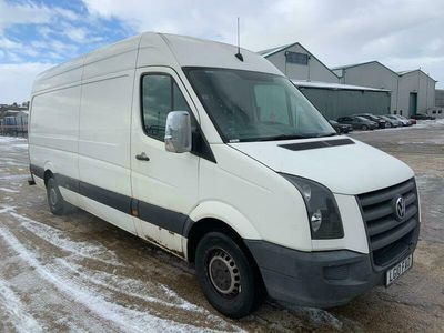 used VW Crafter 2.5 BlueTDI 109PS High Roof Van, 2010 (10)