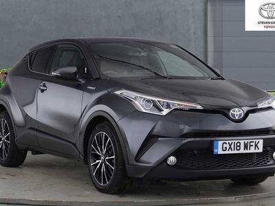 used Toyota C-HR 1.8 VVT-h Excel SUV 5dr Petrol Hybrid CVT (s/s) (122 ps)