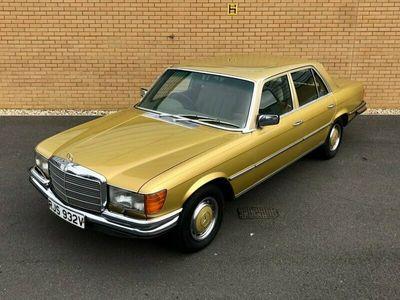 used Mercedes 450 S Class// W116 // 4.5L V8 // CLASSIC SALOON // PX SWAP 4-Door