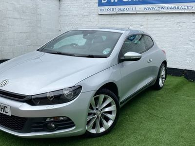used VW Scirocco PETROL AUTOMATIC COUPE 2 DOORS