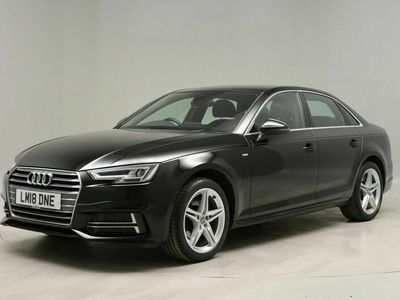 used Audi A4 1.4T FSI S Line 4dr [Leather/Alc] For Sale Reg:LM18 DNE