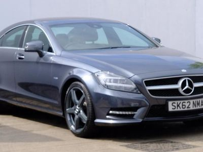 used Mercedes CLS250 CLSCDI BlueEFFICIENCY Sport 4dr Tip Auto Grey Automatic Diesel