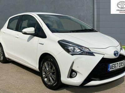 used Toyota Yaris Hybrid 1.5 VVT-i Icon Tech 5-Dr
