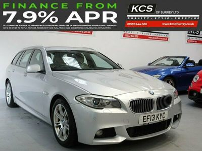 used BMW 520 5 SERIES 2.0 D M SPORT TOURING 5d 181 BHP