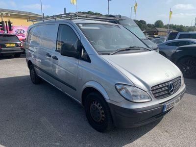 used Mercedes Vito 2.1 109 CDI COMPACT SWB 95 BHP 5 SEATER NO VAT