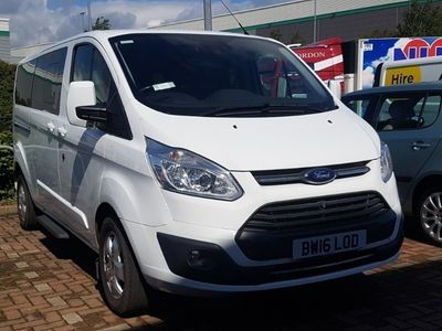 used Ford Custom Transit2.0 Tdci 130ps Low Roof 8 Seater Titanium