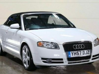 used Audi A4 Cabriolet 2.0T FSI Sport 2dr ONLY 84k RARE IN WHITE.....