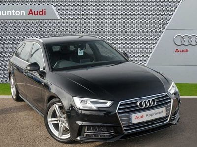 used Audi A4 1.4T FSI S Line 5dr [Leather/Alc] Estate 2018