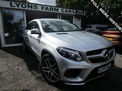 used Mercedes GLE350 GLE 3.0D 4MATIC AMG LINE 9G-TRONIC 4d 255 BHP AUTOMATIC FOUR WHEEL DRIVE *VAT QUALIFYING*, 2017 ( )