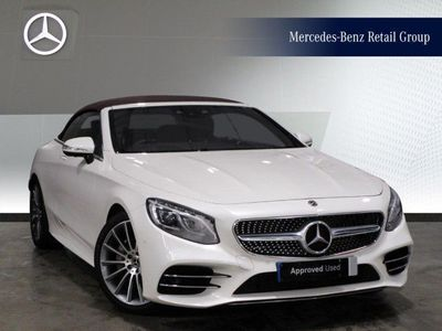 used Mercedes S560 S ClassAMG Line Cabriolet 2018