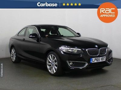used BMW 220 2 Series 2016 2 SERIES d [190] Luxury 2dr Step Auto Coupe 2016