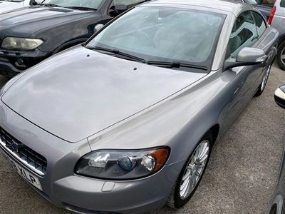 used Volvo C70 2008 2.0D SE 2dr CONVERTIBLE DIESEL FULL LEATHER FULL SERVICE HISTORY