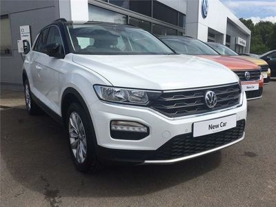 used VW T-Roc 2017 1.5 TSI SE 150PS EVO DSG 5dr