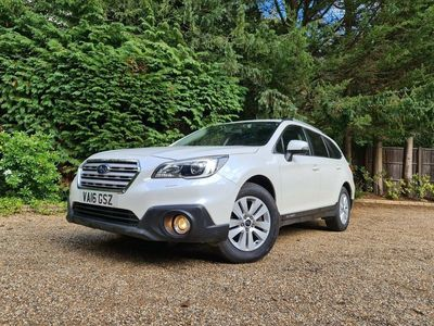 used Subaru Outback 2.0D SE Lineartronic 4WD 5dr
