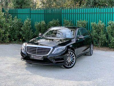 used Mercedes S500 S-Class 3.0E L AMG LINE EXECUTIVE 4d 329 BHP REAR CAMERA SAT NAV