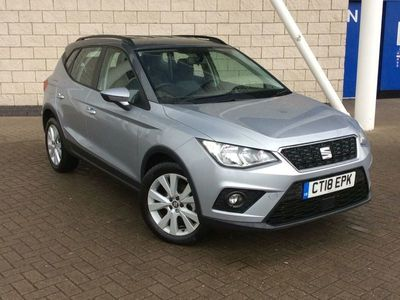 used Seat Arona 1.6 TDI 115 SE Technology Lux 5dr Hatchback 2018