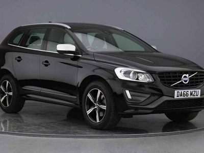used Volvo XC60 D5 AWD R-Design Lux Nav Auto (Winter Pack) 2.4 5dr