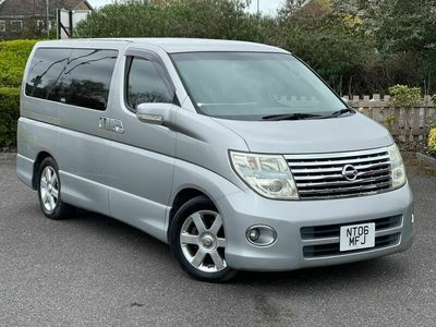 used Nissan Elgrand HIGHWAY STAR V6 3.5 AUTO 8 SEATS LEATHER 5dr