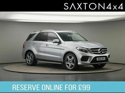 used Mercedes GLE350 GLE Class 3.0 dAMG Line Estate 5d
