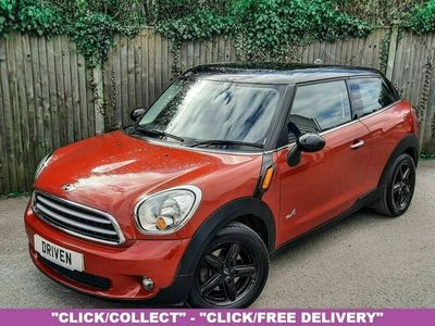used Mini Cooper D Paceman 1.6 ALL4 3d 112 BHP
