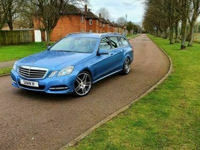 used Mercedes E220 E Class 2.1CDI BlueEFFICIENCY Edition 125 G-Tronic (s/s) 5dr