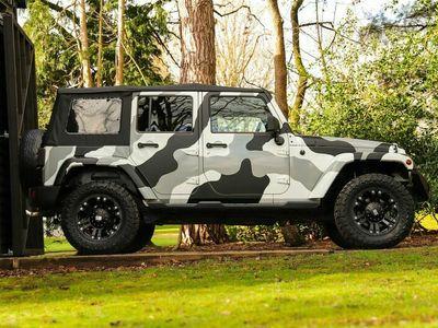 used Jeep Wrangler 2.8 CRD Sahara Auto 4WD 4dr EU5