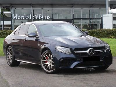 used Mercedes E63S AMG E Class Amg4Matic+ Premium 4dr 9G-Tronic amg saloon