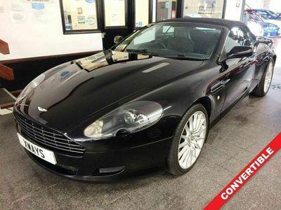 used Aston Martin DB9 5.9 V12 VOLANTE 2d 451 BHP Superb Previous History