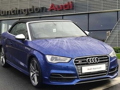 used Audi A3 Cabriolet S3 TFSI Quattro 2dr S Tronic